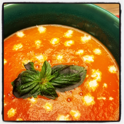 Italiaanse Tomatenroomsoep