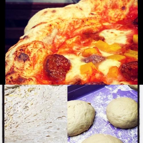 Pizzadeeg van The Wood Fired Oven Chef