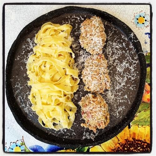Tagliatelle met Ragu van wit vlees uit Bologna