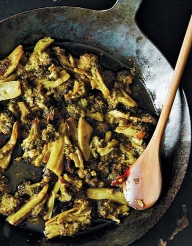 Voor altijd gekookte Broccoli