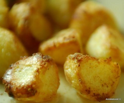 Aardappelen in Eendenvet