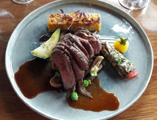 Steak met Rode Wijnsaus